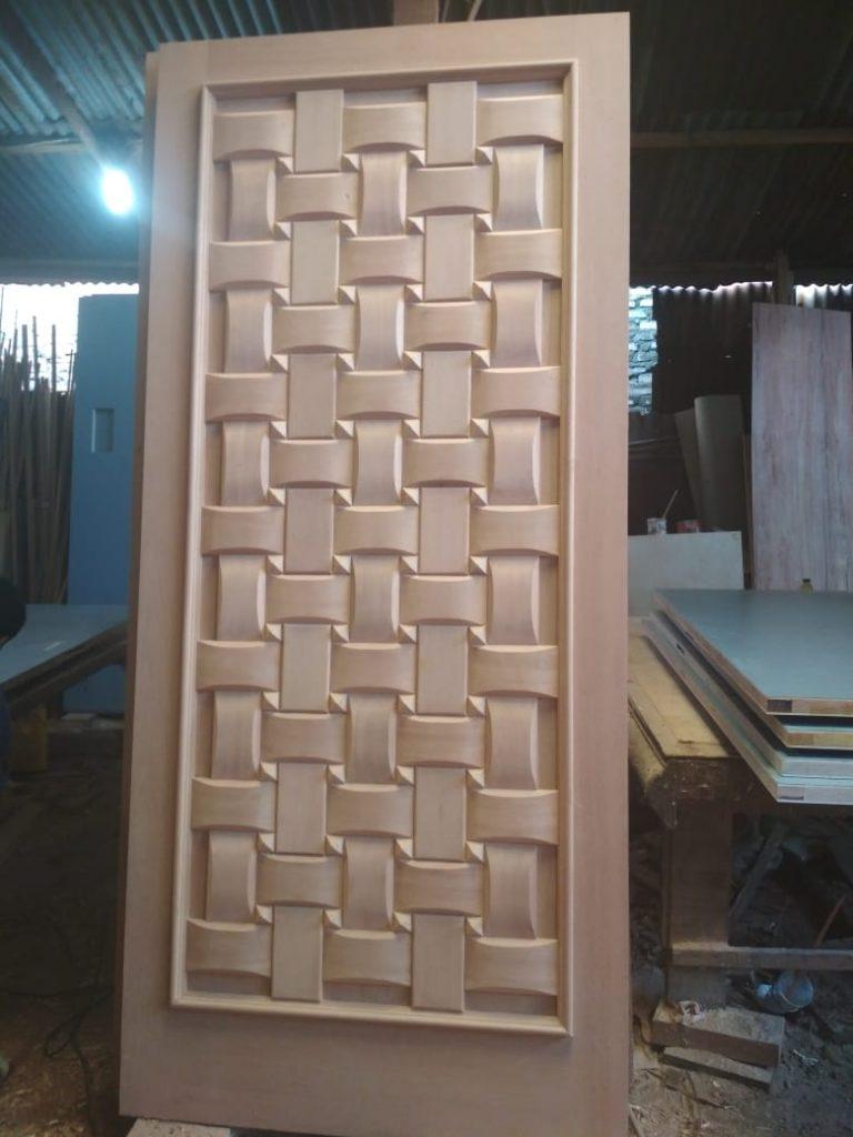 Pintu Model Anyaman Kamper Samarinda Oven