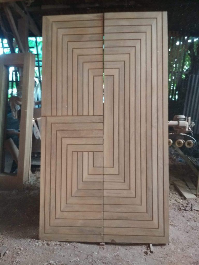 Pintu Kayu Model Antik Harga Murah