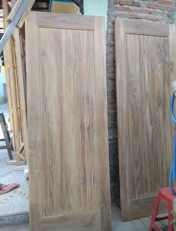 Memilih Model Dan Jenis Kayu Untuk Kusen Dan Pintu