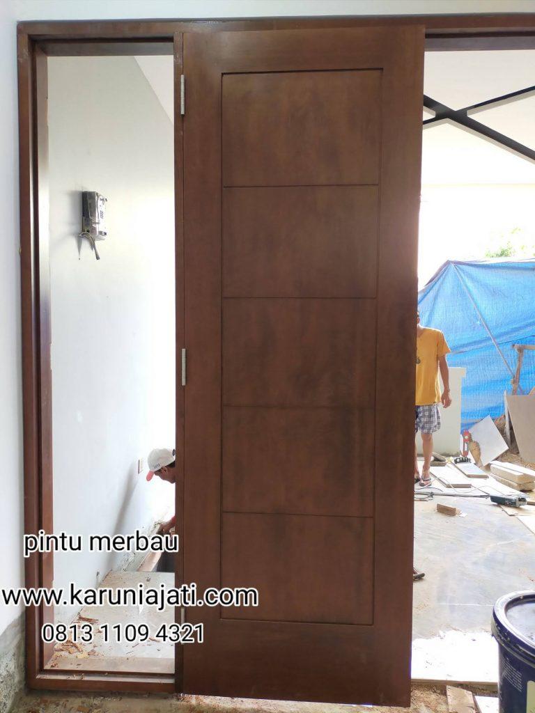 Daftar Harga Pintu Merbau Oven Di Jakarta