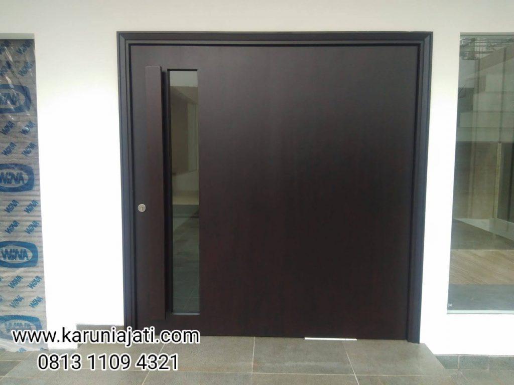 Pintu Merbau Model Blok